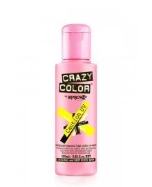 Crazy Color Semi-Permanent Hair Color Cream Caution UV