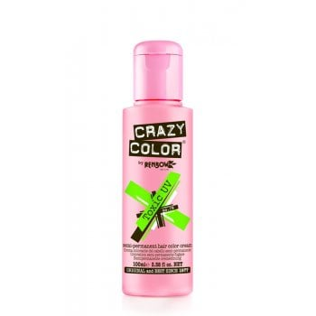 Renbow Crazy Color Semi-Permanent Hair Color Cream Toxic UV