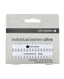 Individual Lashes Ultra Black Mini