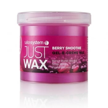 Salon System Just Wax Gel-E-Creme Berry Smoothie 425g