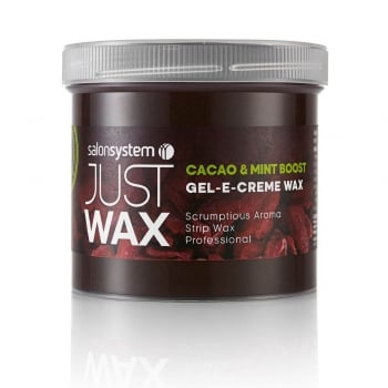Salon System Just Wax Gel-E-Creme Cacao & Mint 425g