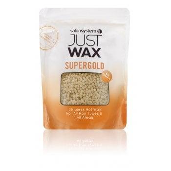 Salon System Just Wax Supergold Stripless Hot Wax 700g