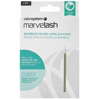 Salon System Marvelash Bamboo Micro Applicator x 100