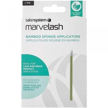Salon System Marvelash Bamboo Sponge Applicator x 100