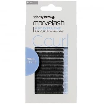 Salon System Marvelash C Curl 0.07 Volume Assorted Extra Fine Mink