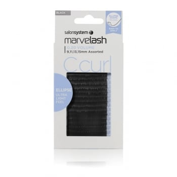Salon System Marvelash C Curl 0.20 Volume Assorted Ellipse