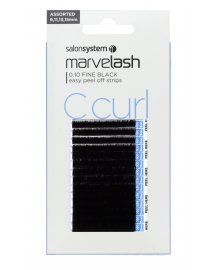 Marvelash Lash Extensions C Curl 0.10 Assorted Fine Black