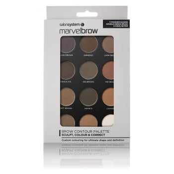 Salon System Marvelbrow Brow Contour Palette