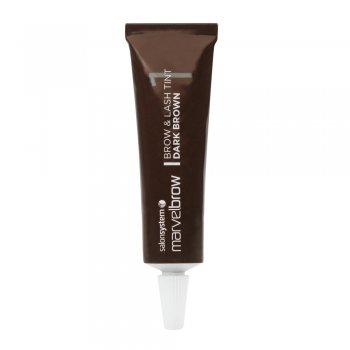 Salon System Marvelbrow Brow & Lash Tint Dark Brown 15ml