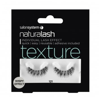 Salon System Naturalash 121 Black Texture (Wispy Effect)