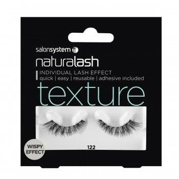 Salon System Naturalash 122 Black Texture (Wispy Effect)