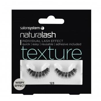 Salon System Naturalash 123 Black Texture (Wispy Effect)