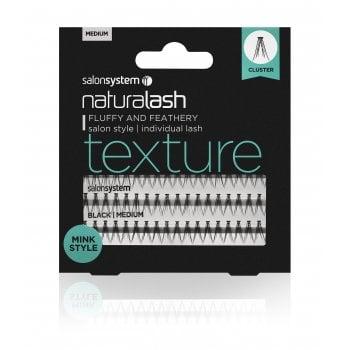 Salon System Naturalash Individual Lashes Texture Medium (Mink)