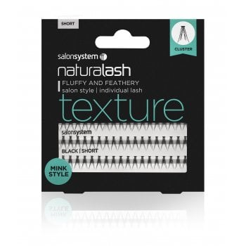 Salon System Naturalash Individual Lashes Texture Short (Mink)