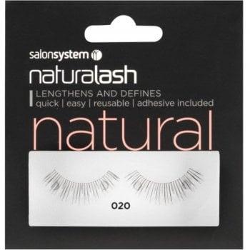 Salon System Naturalash Striplash Natural 020 Black