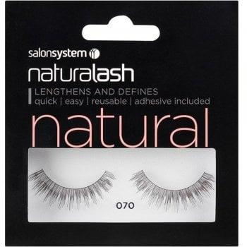 Salon System Naturalash Striplash Natural 070 Black