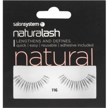 Salon System Naturalash Striplash Natural 116 Black