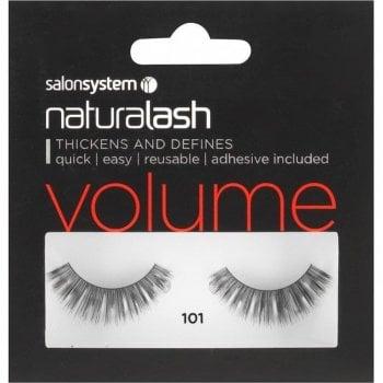 Salon System Naturalash Striplash Volume 101 Demi Black