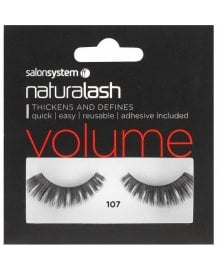 Naturalash Striplash Volume 107 Black