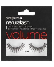 Naturalash Striplash Volume 120 Black