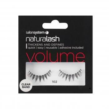 Salon System Naturalash Striplash Volume Clear Band 102 Black