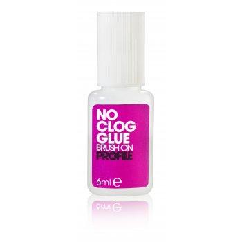 Salon System No Clog Brush on Nail Glue 6ml