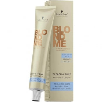 Schwarzkopf BlondMe Bleach and Tone 60ml