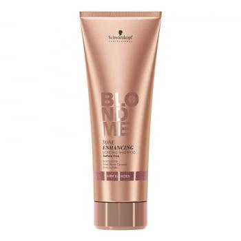 Schwarzkopf BlondMe Blonde Shampoo Rich Caramel 250ml