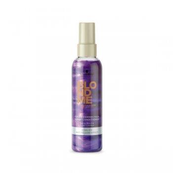 Schwarzkopf BlondMe Colour Correction Spray Conditioner Cool Ice 150ml