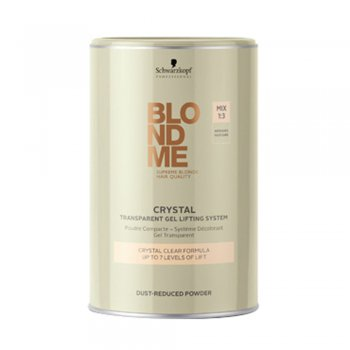 Schwarzkopf BlondMe Crystal Transparent Dust-Reduced Powder 450g