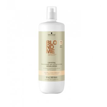 Schwarzkopf BlondMe Crystal Transparent Gel Lightener 9% 30 Vol 1000ml