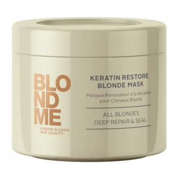 Schwarzkopf BlondMe Keratin Restore Blonde Mask All Blondes 200ml