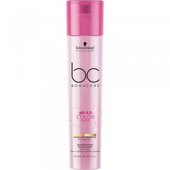 Schwarzkopf Bonacure Color Freeze Gold Shimmer Micellar Shampoo 250ml