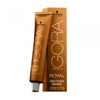 Schwarzkopf Igora Royal High Power Browns B-3 Brown Matt