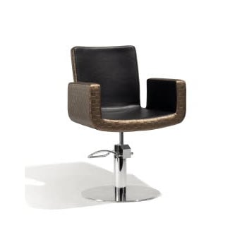 Sibel Attractio Cutting Chair Dark Gold & Black Round Base
