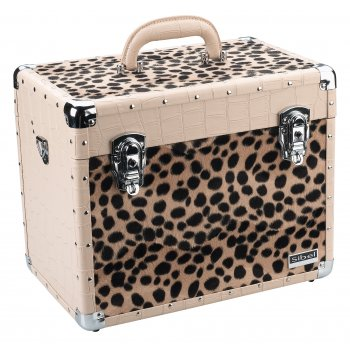 Sibel Croco & Leopard Beauty Case