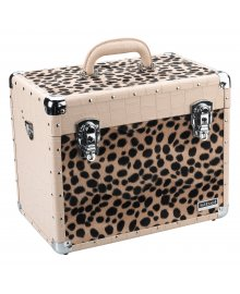Croco & Leopard Beauty Case
