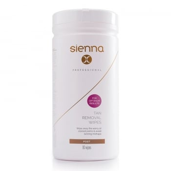 Sienna X Tan Removal Wipes 80 Pack