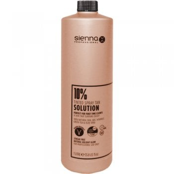 Sienna X Tanning Solution 10% Gold 1 Litre