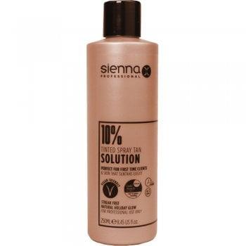 Sienna X Tanning Solution 10% Gold 250ml