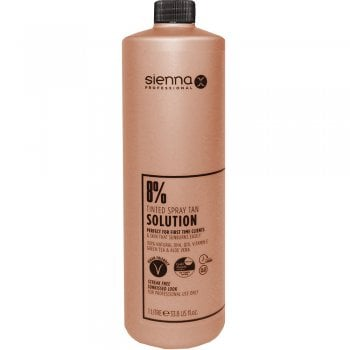 Sienna X Tanning Solution 8% Gold 1 Litre