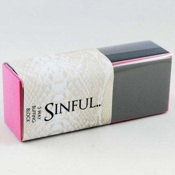 Sinful Nails 3 Way Finishing Block - Single