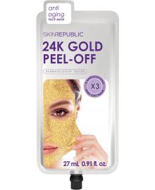 24K Gold Peel-Off Face Mask
