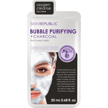Skin Republic Bubble Purifying + Charcoal Face Mask Sheet 20ml