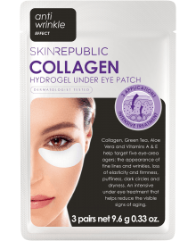 Collagen Hydrogel Under Eye Patch 3 Pairs 18g