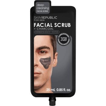 Skin Republic For Men Charcoal Facial Scrub