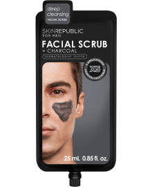 For Men Charcoal Facial Scrub