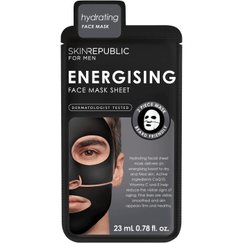 Skin Republic For Men Energising Face Sheet Mask