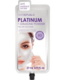 Platinum + Diamond Powder Peel-Off Face Mask