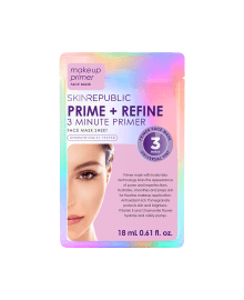 Prime + Refine Face Mask Sheet 18ml